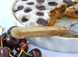 Buckwheat and Cherry Clafoutis